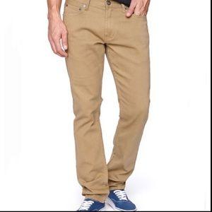 Bullhead - Denim Khaki Straight Slim Jeans